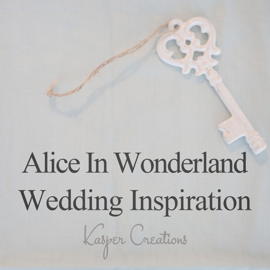 Disney Themed Wedding 1 Alice In Wonderland Garden Wedding