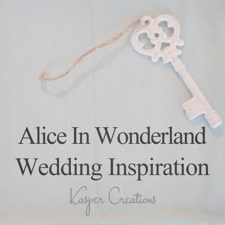 Disney Themed Wedding #1 :: Alice in Wonderland (Garden Wedding ...