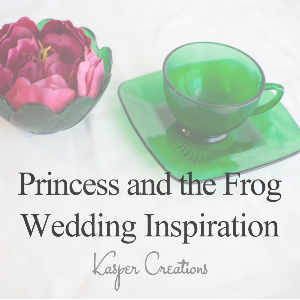 Disney Inspired Wedding #12 :: Princess and the Frog