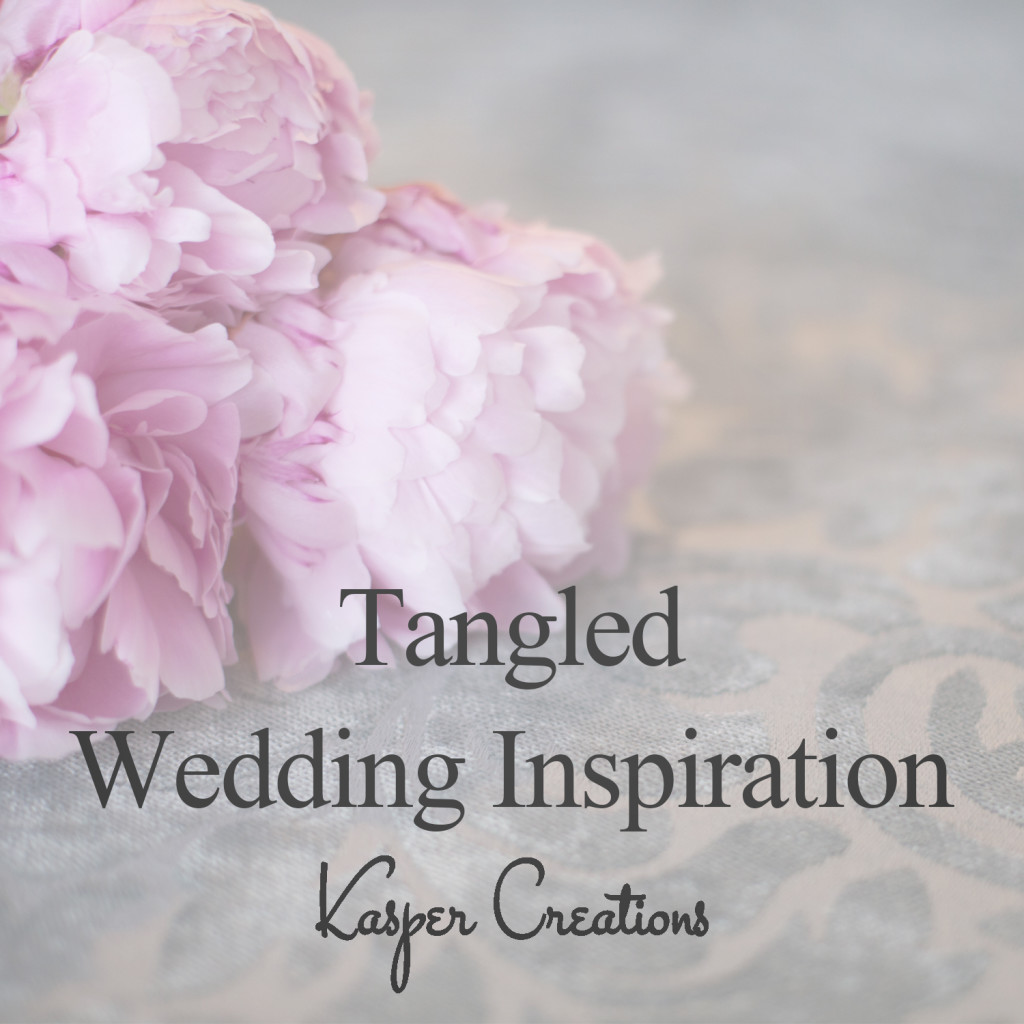 Disney Inspired Wedding 11 Tangledrapunzel Floral Colorful