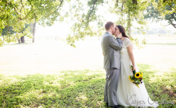 Little River Baptist Church Wedding | Valerie and Mickey | Bride and Groom Couple Photo
